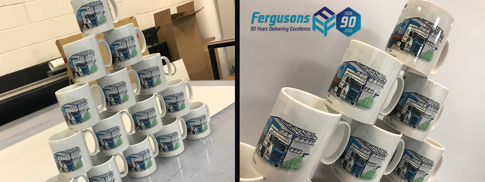 Fergusons Transport Printed Mugs